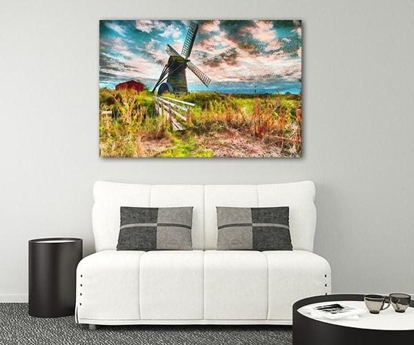 Windmill Canvas Prints