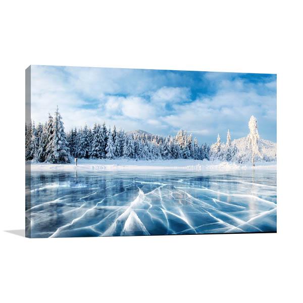 Winter Blue Sky Wall Art