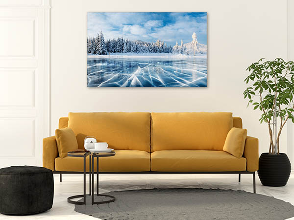 Winter Blue Sky Art Prints