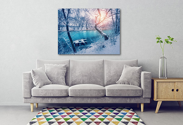 Winter Forest Prints Canvas