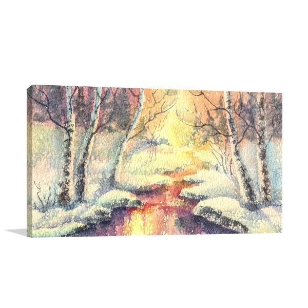 Winter Forest Artwork