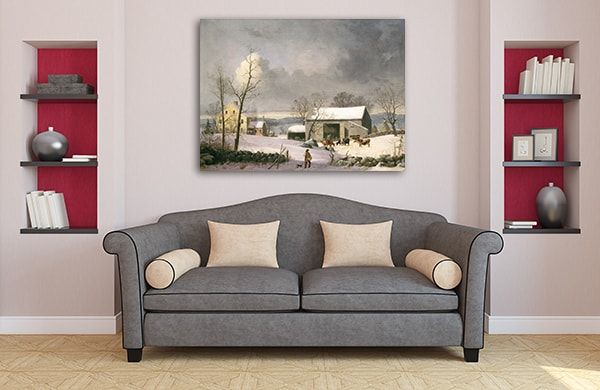 Winter in the Country Artwork