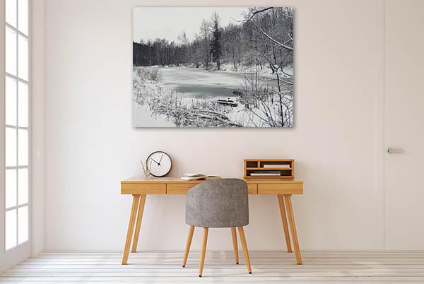 Winter Nature Trees Prints Canvas
