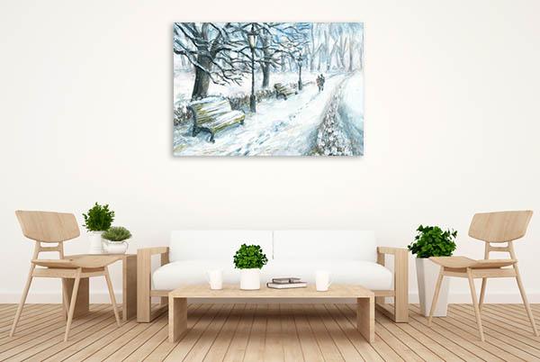 Winter Park Print Artwork