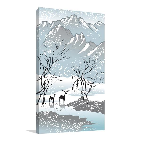 Winter Print Artwork