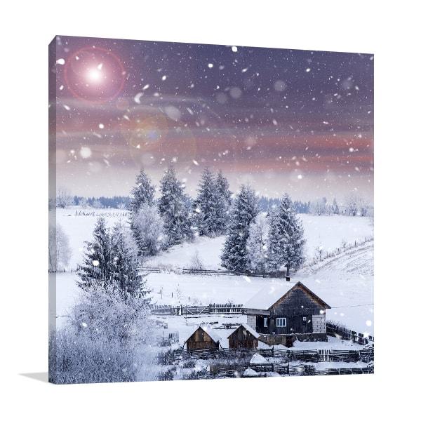 Winter Wonderland Canvas Art Prints