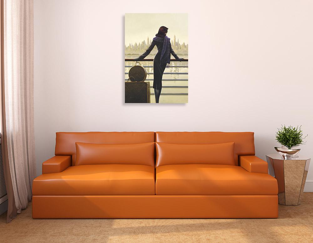 Figurative Art Print on Canvas