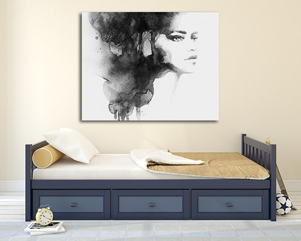 Woman Watercolour Wall Art