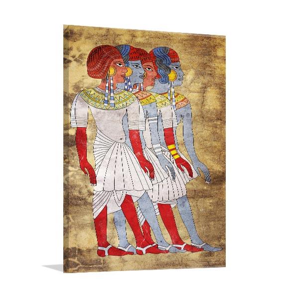 Women of Ancient Egypt Canvas Prints