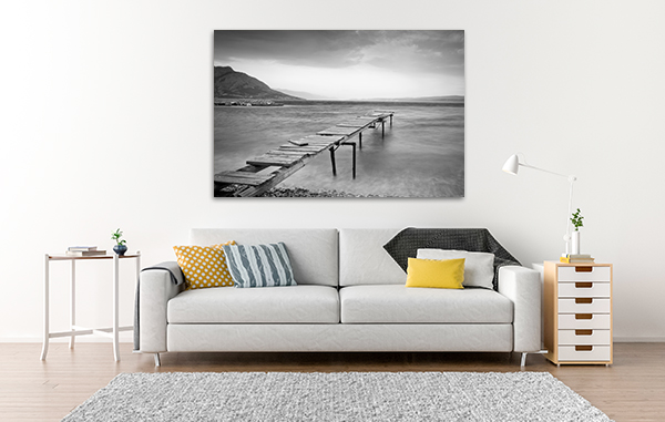 Wooden Jetty Canvas Prints