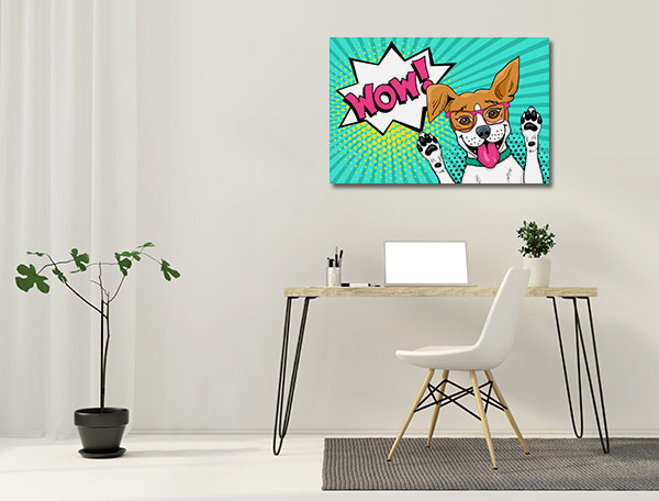 Wow Dog Art Prints