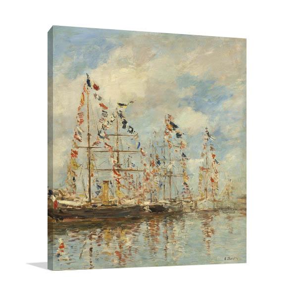 Yacht Basin Canvas Prints