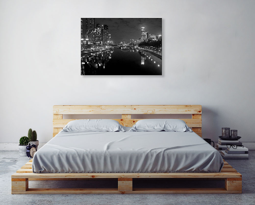 Black and White Photography Canvas Print