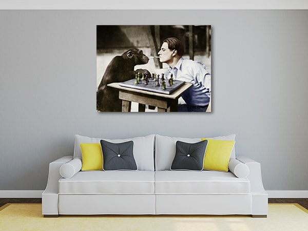 Young and Retro Art Prints
