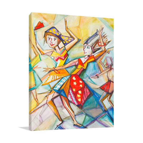 Young Girls Canvas Prints