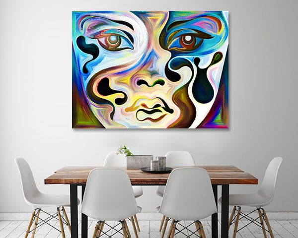 Your Moods Canvas Art Print on the Wall