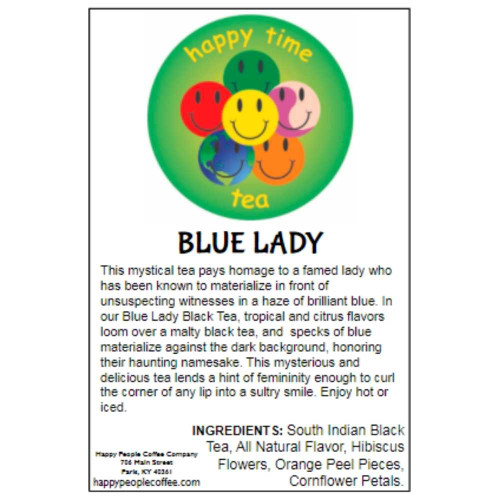 Blue Lady Black Tea -5 oz