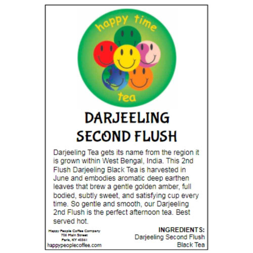 Darjeeling Second Flush Black Tea -5 oz