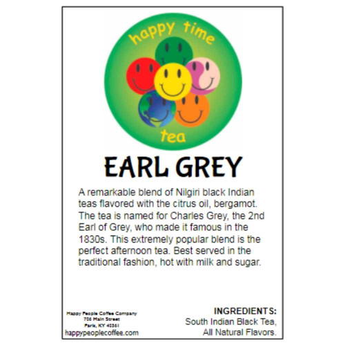 Earl Grey Black Tea -5 oz