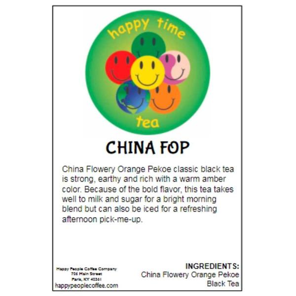 China FOP Black Tea -5 oz