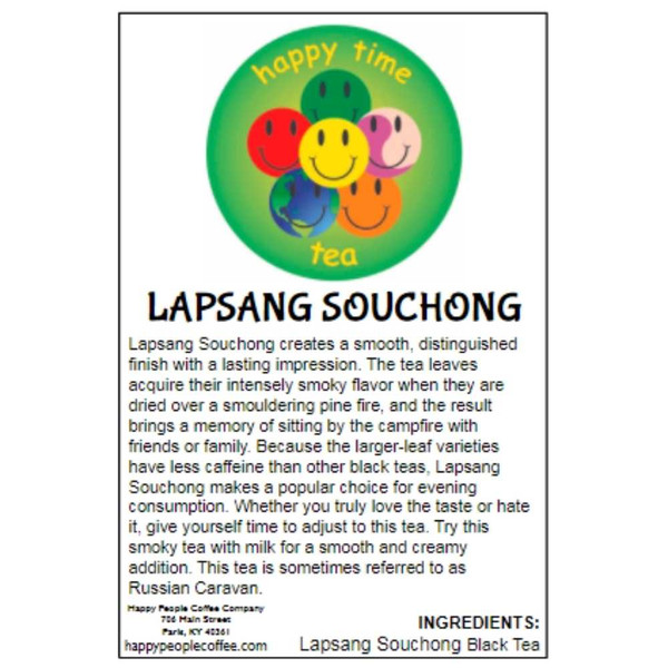 Lapsang Souchong Black Tea -5 oz