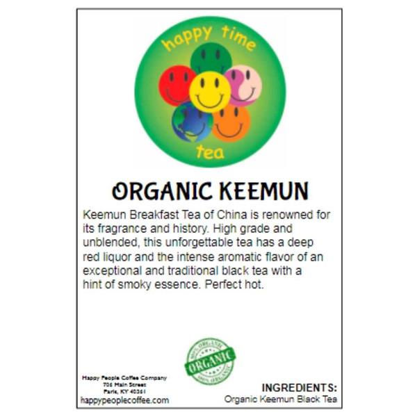 Organic Keemun Breakfast Black Tea -5 oz