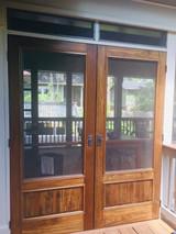 Ordering Double Screen Doors (French Door Setup)