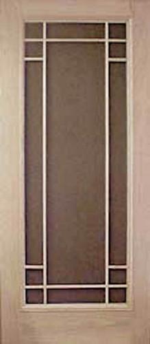 Premium Series Wood Screen Doors - Philippian