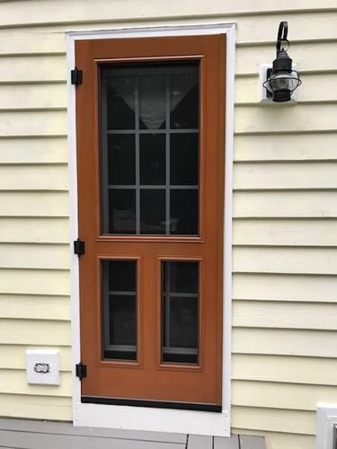Premium Series Wood Screen Doors - T Bar