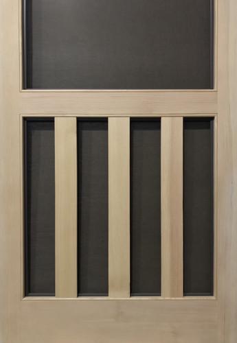 Standard Series Wood Screen Doors - Three Planks
