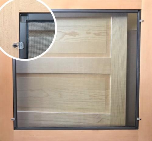 Standard Series Wood Screen Doors - Single Rail