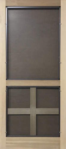 Standard Series Wood Screen Doors - Four Square