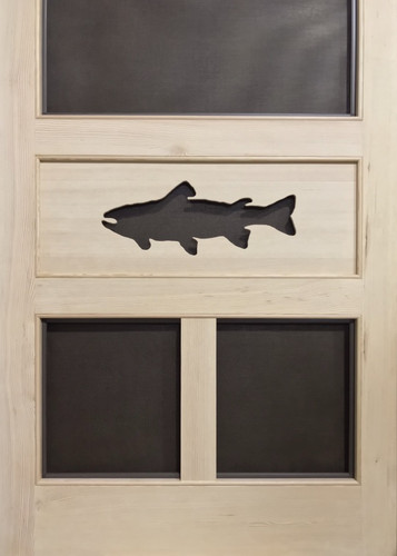 Standard Series Wood Screen Doors - Trout