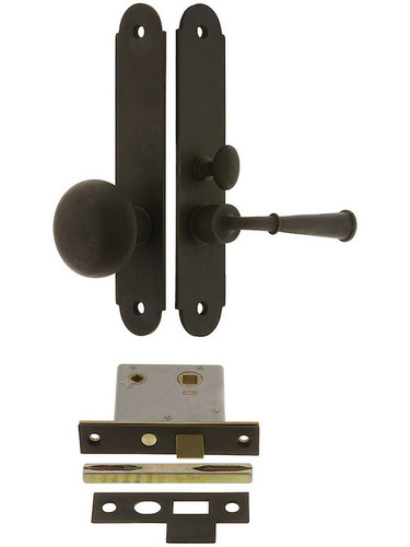 Plateau Mortise Arch Lockset