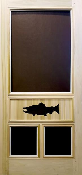 Premium Series Wood Screen Doors - Salmon