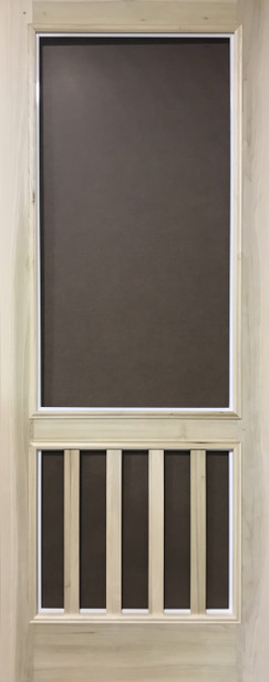 Premium Series Wood Screen Doors - Old English