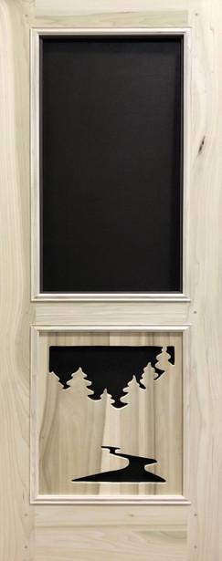 Premium Series Wood Screen Doors - River & Woods