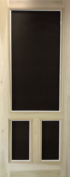 Premium Series Wood Screen Doors - T Bar