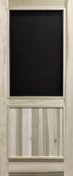 Premium Series Wood Screen Doors - Solid Panel