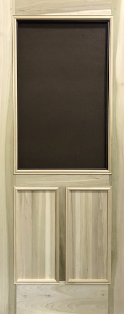 Premium Series Wood Screen Doors - Double Panel