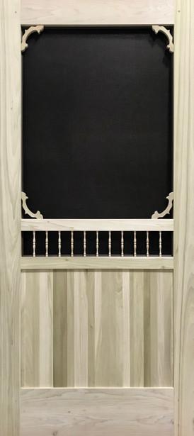 Premium Series Wood Screen Doors - Isabella