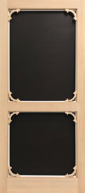 Standard Series Wood Screen Doors - Victorian Bracket