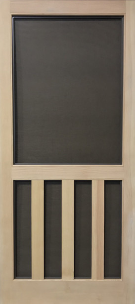 Select Series Wood Screen Doors - Three Planks