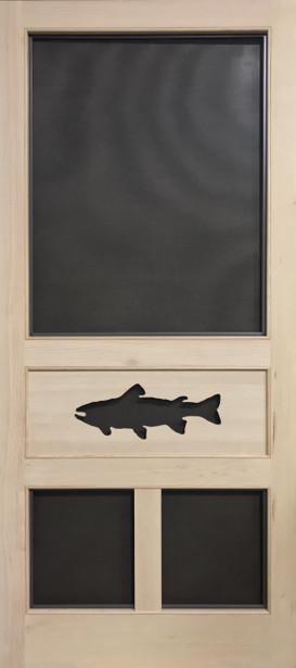 Standard Series Wood Screen Doors - Trout