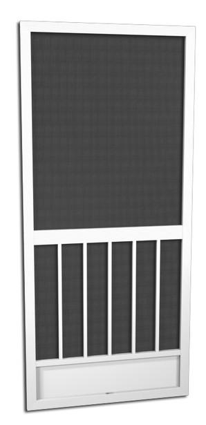 Glacier Breeze Aluminum Screen Doors- Five Planks