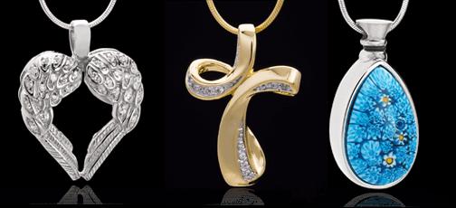 97c90d6036f67 Jewelry Keepsakes - Cremation Jewelry Keepsakes & Cremation Keepsake ...