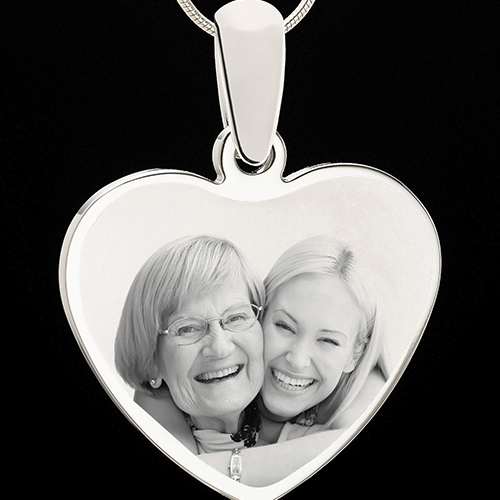 Photo Engraved Heart