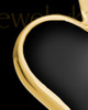 Ash Keepsake 14k Gold Ebony Heart Keepsake