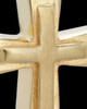 Urn Jewelry Gold Plated Two Cross Keepsake