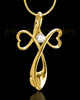 Gold Plated Forever in My Heart Keepsake Jewelry